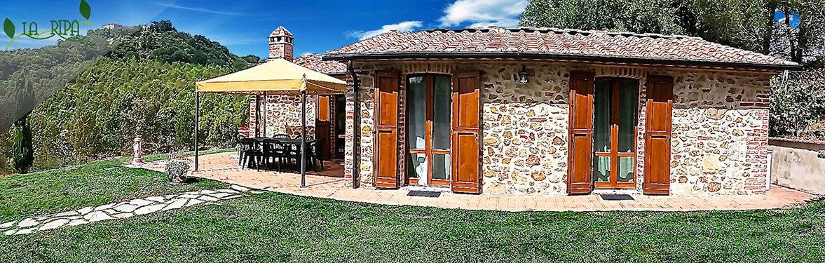 La ripa holidays farm tuscany siena